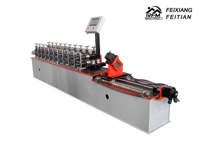C Channel Roll Forming Machine , Galvanized Steel Profile Roll Forming Machine